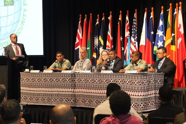 Panelists at the 2016 Oceania Regional Environmental Security Forum